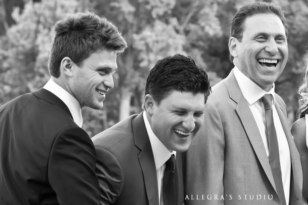 groom and his sons