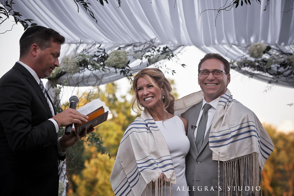 wrapped in the tallit