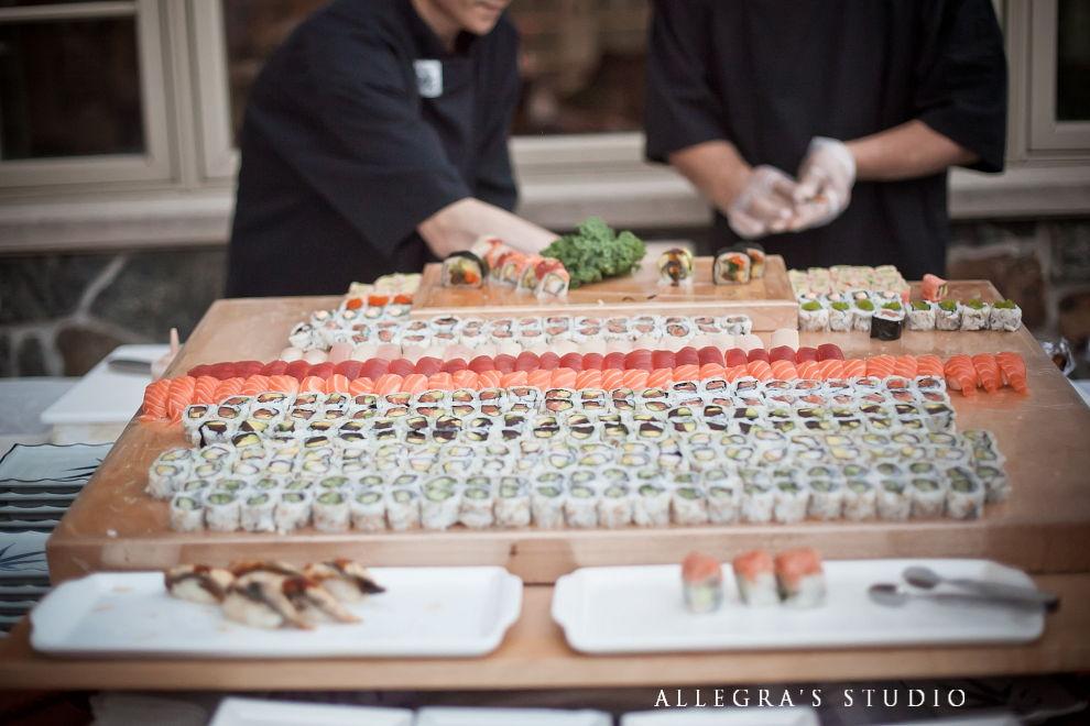 sushi reception