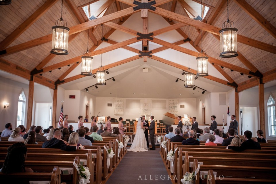 Wedding at Shady Grove United Methodist