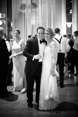 wedding couple at the Commonwealth Club