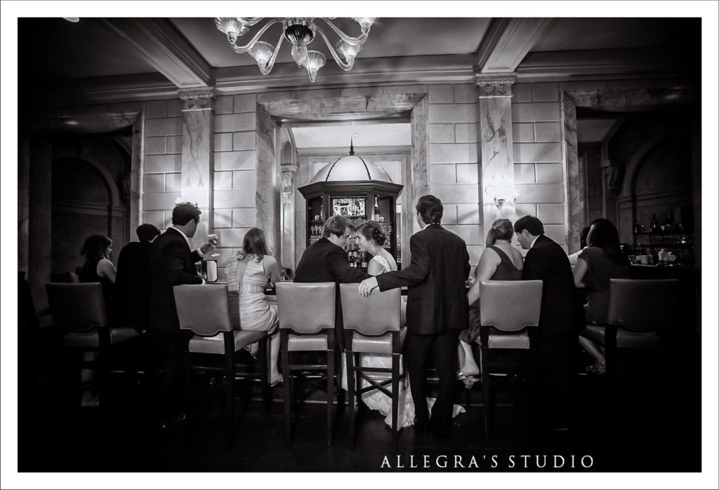 Wedding after party at the Jefferson Hotel